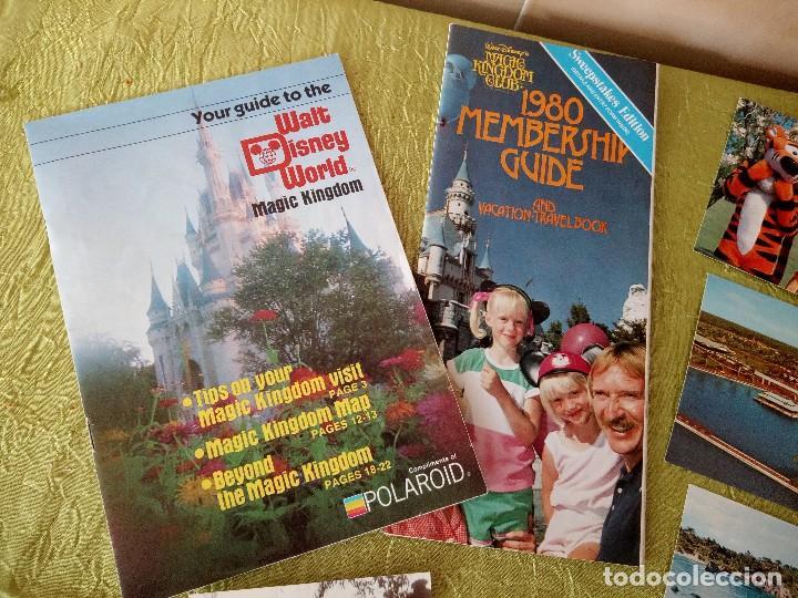Folletos de turismo: walt disney world magic kingdon,lote de folletos postales y fotos de los años 79/80 - Foto 2 - 118833359