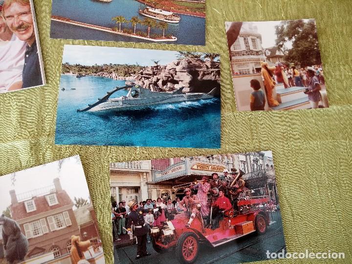 Folletos de turismo: walt disney world magic kingdon,lote de folletos postales y fotos de los años 79/80 - Foto 4 - 118833359