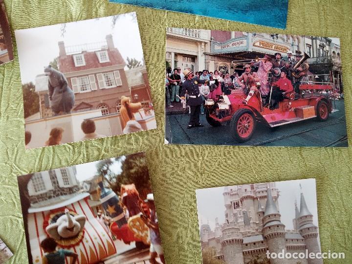 Folletos de turismo: walt disney world magic kingdon,lote de folletos postales y fotos de los años 79/80 - Foto 5 - 118833359