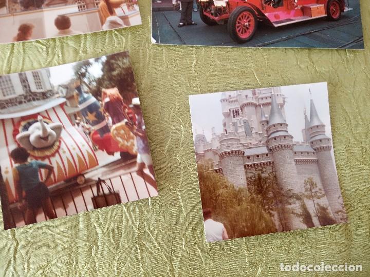 Folletos de turismo: walt disney world magic kingdon,lote de folletos postales y fotos de los años 79/80 - Foto 6 - 118833359