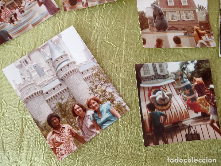 Folletos de turismo: walt disney world magic kingdon,lote de folletos postales y fotos de los años 79/80 - Foto 7 - 118833359