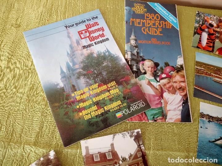 Folletos de turismo: walt disney world magic kingdon,lote de folletos postales y fotos de los años 79/80 - Foto 9 - 118833359