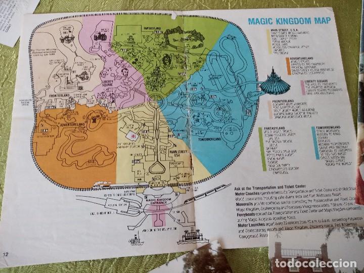 Folletos de turismo: walt disney world magic kingdon,lote de folletos postales y fotos de los años 79/80 - Foto 12 - 118833359