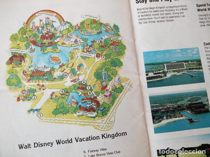 Folletos de turismo: walt disney world magic kingdon,lote de folletos postales y fotos de los años 79/80 - Foto 13 - 118833359