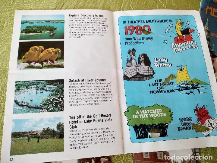 Folletos de turismo: walt disney world magic kingdon,lote de folletos postales y fotos de los años 79/80 - Foto 14 - 118833359