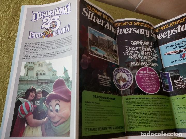 Folletos de turismo: walt disney world magic kingdon,lote de folletos postales y fotos de los años 79/80 - Foto 17 - 118833359