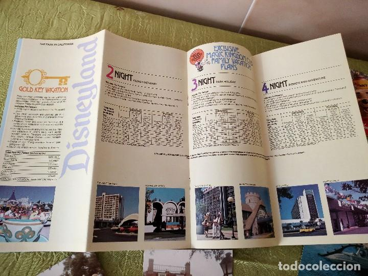 Folletos de turismo: walt disney world magic kingdon,lote de folletos postales y fotos de los años 79/80 - Foto 18 - 118833359