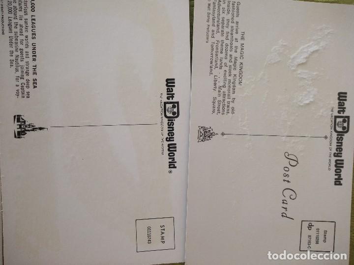 Folletos de turismo: walt disney world magic kingdon,lote de folletos postales y fotos de los años 79/80 - Foto 24 - 118833359