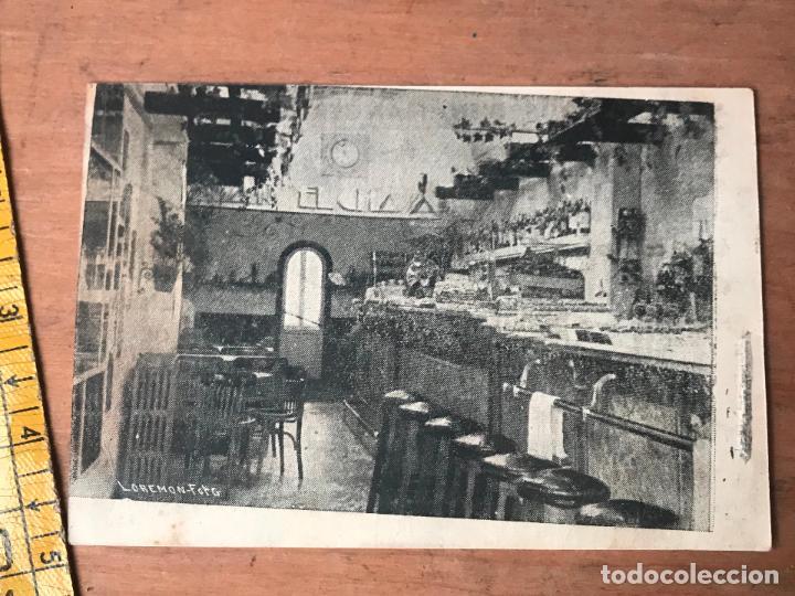 Folletos de turismo: TARJETA PUBLICITARIA FOTOGRAFICA DEL BAR CAFE RESTAURANTE EL CHAVAL - SAN SEBASTIAN AÑOS 40 - Foto 2 - 119145015