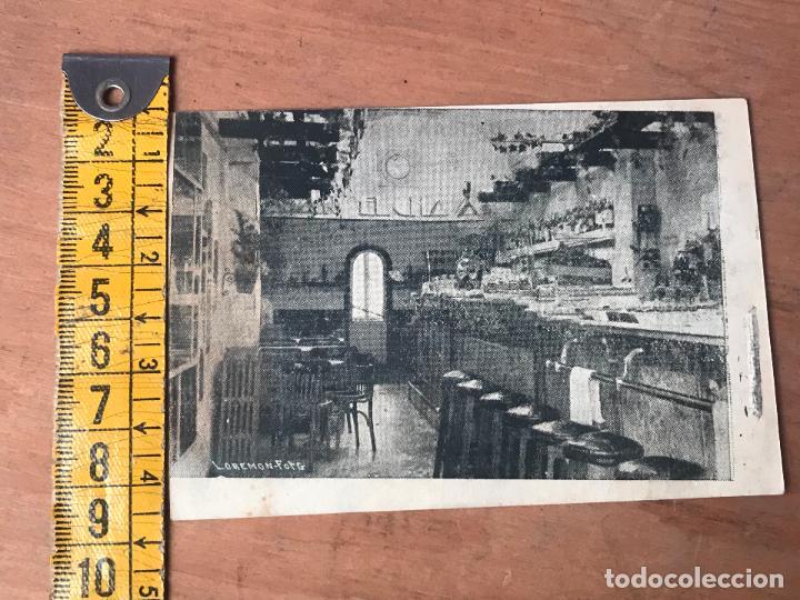 Folletos de turismo: TARJETA PUBLICITARIA FOTOGRAFICA DEL BAR CAFE RESTAURANTE EL CHAVAL - SAN SEBASTIAN AÑOS 40 - Foto 3 - 119145015