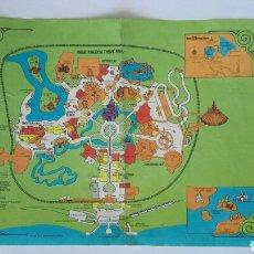 Folletos de turismo: ANTIGUO MAPA DE DISNEYLANDIA EN USA AÑO 1977 MAGIC KINGDOM THEME PARK WORLD DISNEY. Lote 119718638
