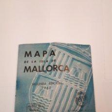 Folletos de turismo: MAPA DE MALLORCA 1950 KIOSKOS VICH. Lote 120289803