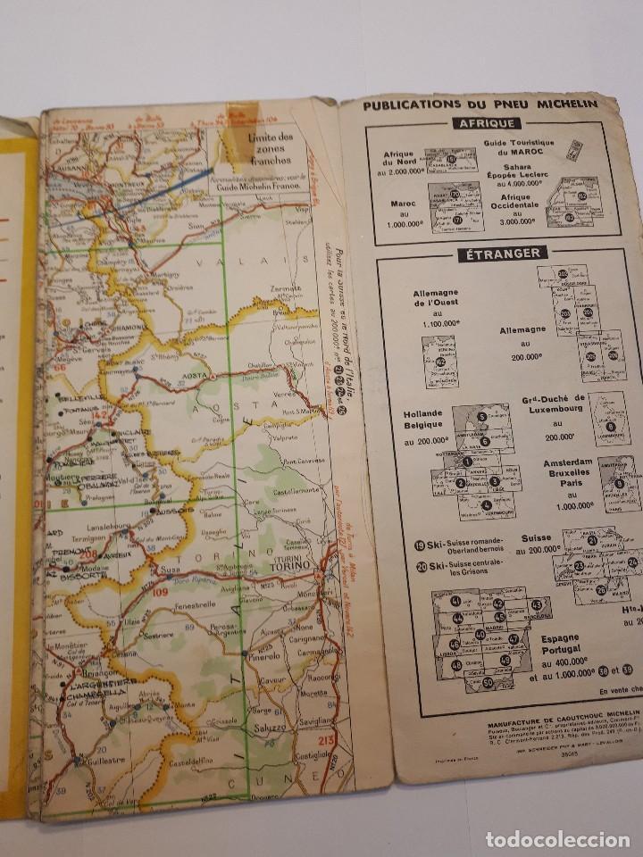 Folletos de turismo: mapa michelin, francia 1950, n 99 - Foto 2 - 120292031