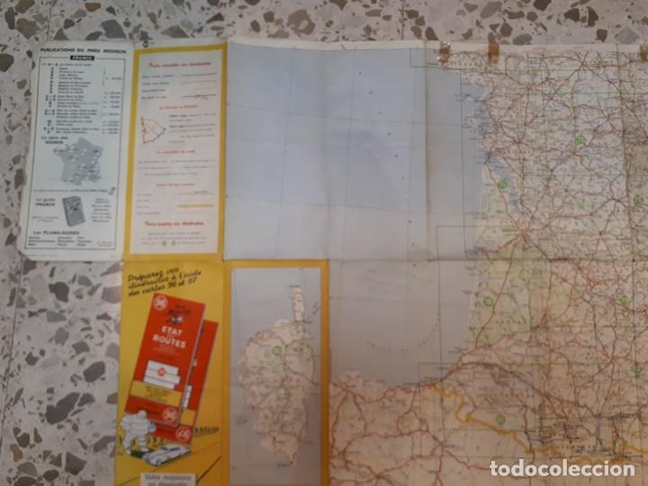 Folletos de turismo: mapa michelin, francia 1950, n 99 - Foto 3 - 120292031