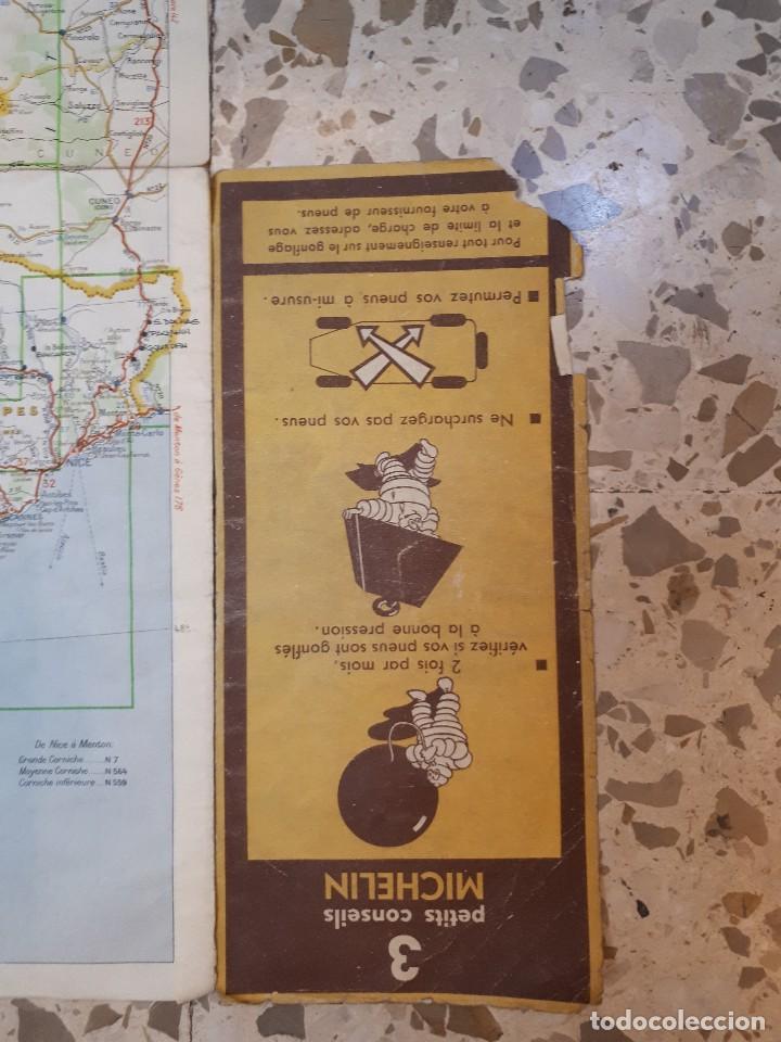 Folletos de turismo: mapa michelin, francia 1950, n 99 - Foto 6 - 120292031