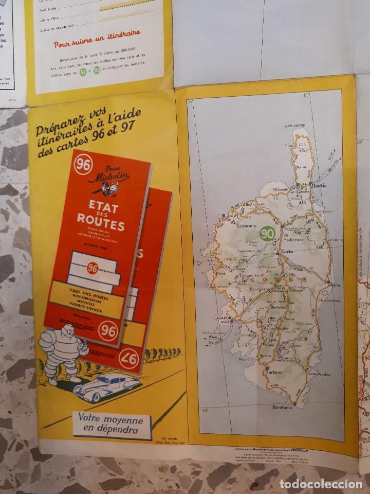 Folletos de turismo: mapa michelin, francia 1950, n 99 - Foto 7 - 120292031