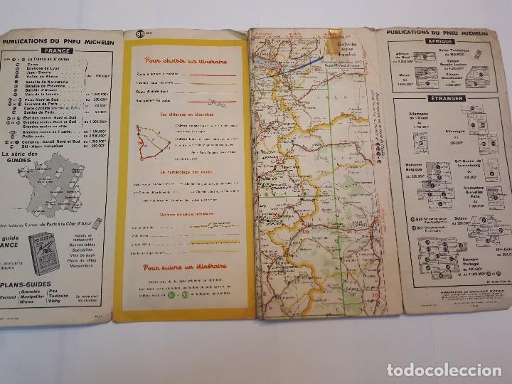 Folletos de turismo: mapa michelin, francia 1950, n 99 - Foto 9 - 120292031
