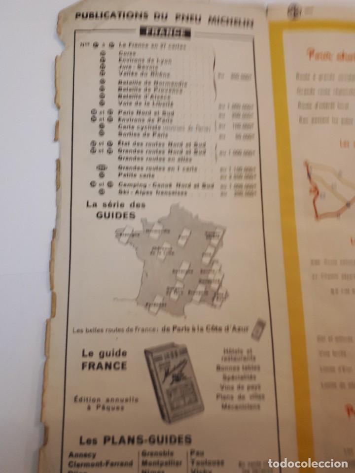 Folletos de turismo: mapa michelin, francia 1950, n 99 - Foto 10 - 120292031