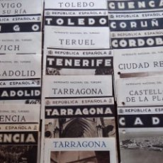 Folletos de turismo: 109 FOLLETOS TURÍSTICOS - 49 REPÚBLICA ESPAÑOLA - 60 PATRONATO NACIONAL DE TURISMO. Lote 120315659