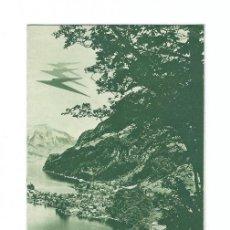 Folletos de turismo: FOLLETO Y HORARIO IMPERIAL AIRWAYS VISIT SWITZERLAND 1933. Lote 120390999