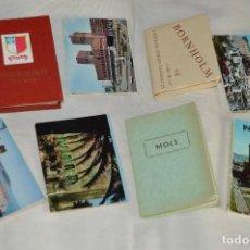 Folletos de turismo: LOTAZO ESTUCHES / SOUVENIRS, CON 8 ÁLBUMES FOTOGRAFÍAS COLOR, AÑOS 60 - DIFERENTES PAÍSES/ CAPITALES. Lote 120511823