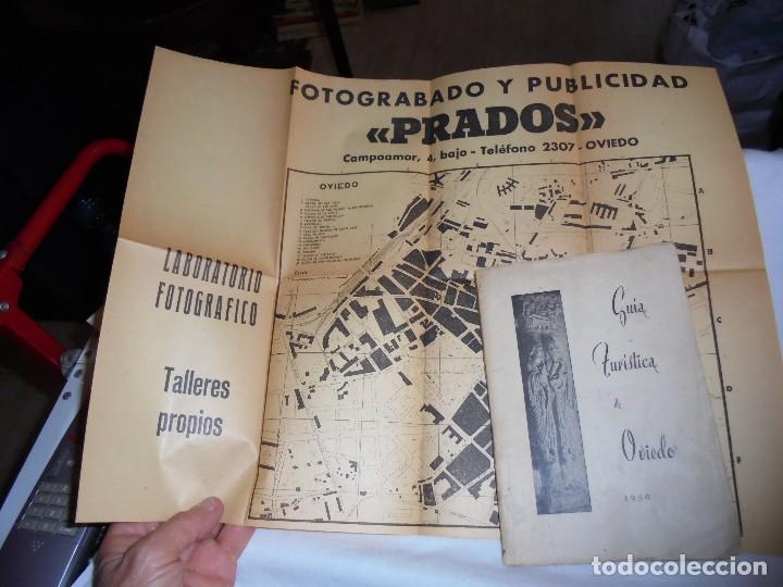 Folletos de turismo: GUIA TURISTICA DE OVIEDO 1950.CONTIENE MAPA - Foto 9 - 120557323