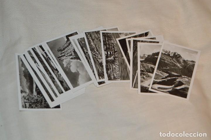Folletos de turismo: Estuche / souvenir, 20 fotografías individuales BLANCO/NEGRO, años 50/60, DE STRADA DELLE DOLOMITI - Foto 4 - 120569199