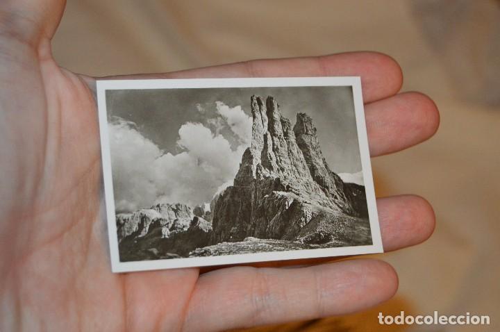 Folletos de turismo: Estuche / souvenir, 20 fotografías individuales BLANCO/NEGRO, años 50/60, DE STRADA DELLE DOLOMITI - Foto 5 - 120569199
