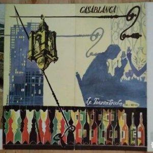 Casablanca hotel trasatlantique le tournebroche antiguo folleto de turismo en aleman