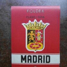 Folletos de turismo: FOLLETO DE TURISMO 1964. PLANO GUIA DE MADRID. Lote 120733243