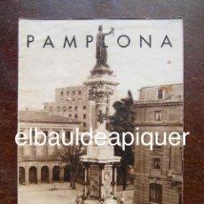 Brochures de tourisme: FOLLETO DE TURISMO AÑOS 60. PAMPLONA. Lote 120817587