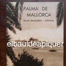 Brochures de tourisme: FOLLETO DE TURISMO AÑOS 60. PALMA DE MALLORCA ISLAS BALEARES. Lote 120822883