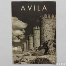 Folletos de turismo: AVILA , FOLLETO TURISMO , 1961. Lote 121411319