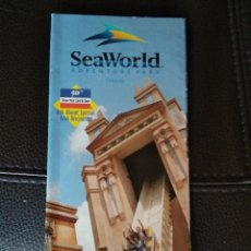 Folletos de turismo: SEA WORLD ORLANDO 1998. Lote 122091011