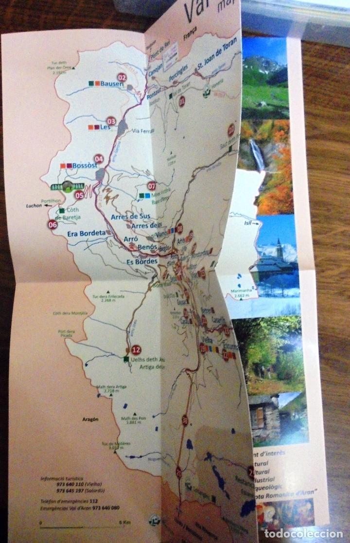 Turistico Valle De Aran Mapa.Mapas Guia Del Valle De Aran Mapa Turistico Mapa Cultural Y Diptico Parque De Fauna