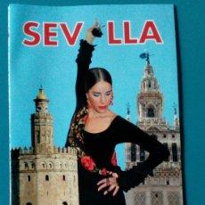 Folletos de turismo: FOLLETO TOURISTIQUE SEVILLA,ESPANHA. CITY MAP. Lote 124323543