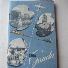 Folletos de turismo: BARCELONA -MALLORCA. GUIA GANDA. JUNTA PROVINCIAL DE TURISMO.. Lote 124471623