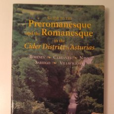 Folletos de turismo: GUIDE TO THE PREROMANESQUE AND THE ROMANESQUE IN THE CIDER DISTRICT OF ASTURIAS. TREA, 2000.. Lote 124582435