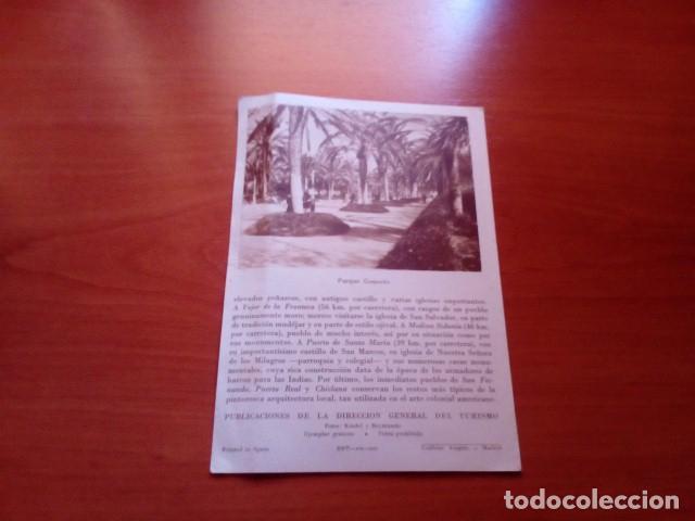 Folletos de turismo: CADIZ - AÑOS 60 - FOTOS KINDEL Y REYMUNDO - DIRECCION GENERAL DEL TURISMO - Foto 3 - 125906691