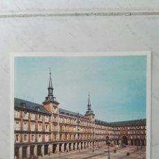 Folletos de turismo: FOLLETO BANCO VIZCAYA PLAZA MAYOR MADRID AÑOS 70 16,50X23CM. Lote 125906992
