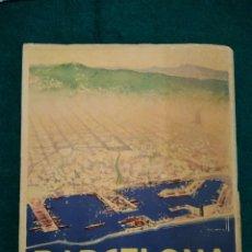 Folletos de turismo: BARCELONA GUIA DE TURISMO .- ILUSTRADOR MORELL .- PUBLUCACION DIRECCION GENERAL DEL TURISMO. Lote 127202107
