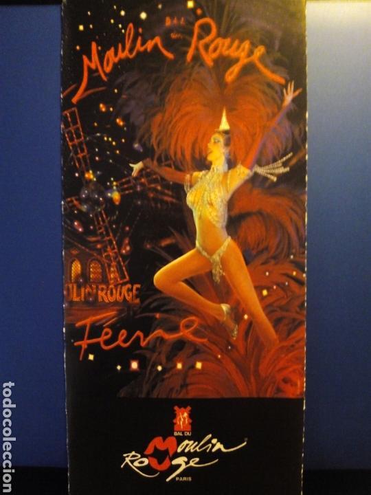 FOLLETO MOULIN ROUGE. 2008 (Coleccionismo - Folletos de Turismo)