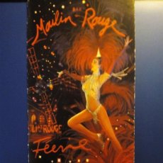 Folletos de turismo: FOLLETO MOULIN ROUGE. 2008. Lote 95532707