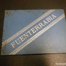 Folletos de turismo: SIGLO XIX FUENTERRABIA HENDAYA LIBRO DE TURISMO CON 12 VISTAS APAISADO - SAN SEBASTIAN PAIS VASCO. Lote 128958831