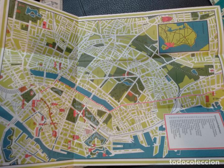 Mapa Turistico De Copenhague.Kopenhagen Mapa Turistico Copenhague Dinamarca