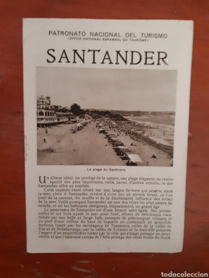 Folletos de turismo: Folleto turismo Santander - Foto 1 - 129365155