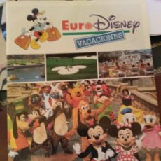 Folletos de turismo: EURODISNEY 1993 - VIAJES EL CORTE INGLÉS. Lote 130034659