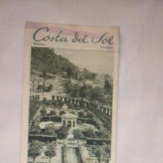 Folletos de turismo: FOLLETO VIAJES COSTA DEL SOL - PUBLICACIONES DE LA DIRECCIÓN GENERAL DEL TURISMO (AÑOS 50/60). Lote 130035795