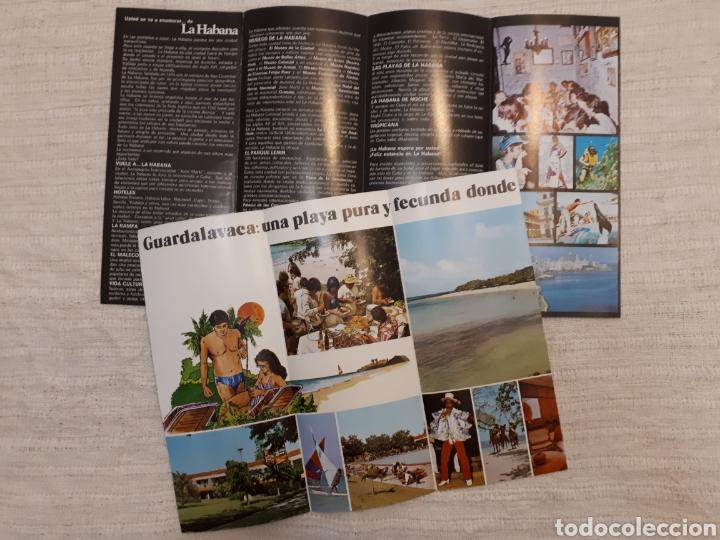 Folletos de turismo: Follleto turismo La Habana + Guardalavaca, Cuba - Foto 2 - 130281734