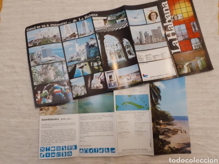 Folletos de turismo: Follleto turismo La Habana + Guardalavaca, Cuba - Foto 3 - 130281734